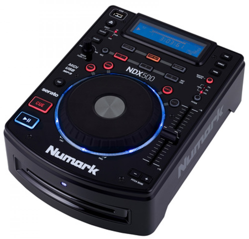 Images from NDX500 of Numark